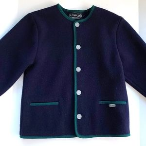 Giesswein Vintage Wool Sweater Cardigan Sz 12